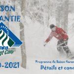PROGRAMME DE SAISON GARANTIE 2020-2021